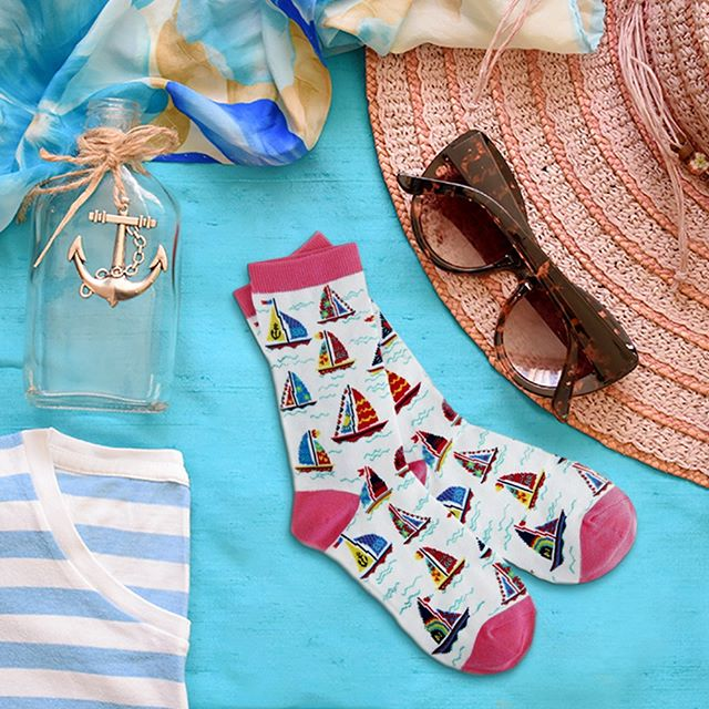 Sailboat Crew Socks