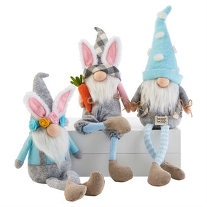 Easter Dangle Leg Gnomes