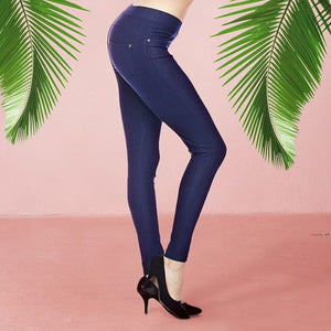 Denim Ankle Leggings