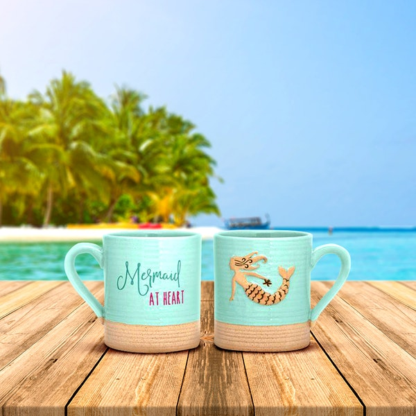 Sandy Mug - Mermaid at Heart