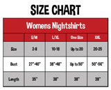 Otterly Exhausted Women's V-neck Nightshirt