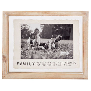 Small Family Glass Frame