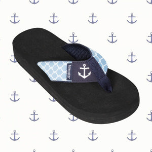 Anchored Boardwalk Flip-Flop Sandals
