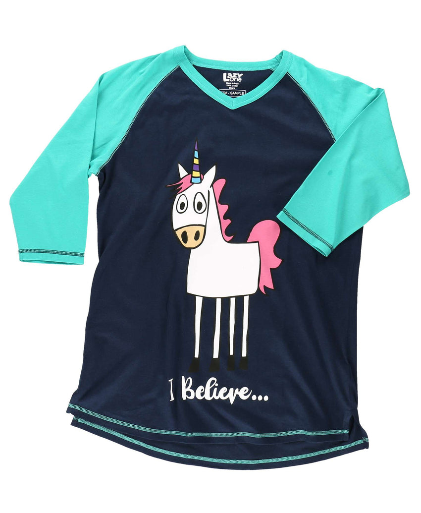 I Believe Women's Unicorn Tall Tee