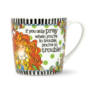 Suzy Toronto You're In Trouble Gift Mug