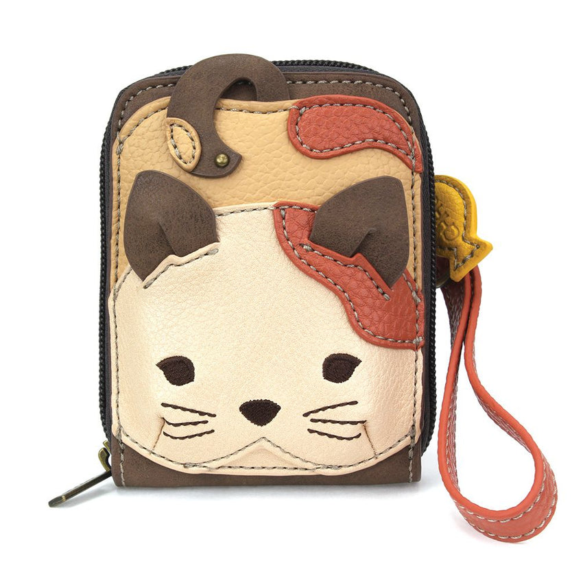 Cute C Cat Wallet Wristlet