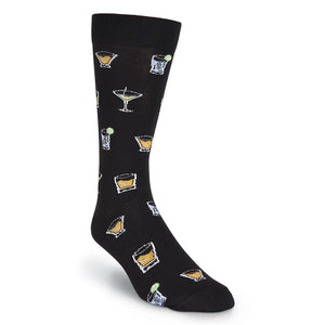 Men's Cocktail Crew Socks