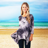 Cloud Burst Tie Dye Top