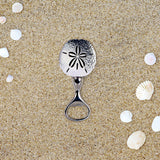Sand Dollar Metal Bottle Opener