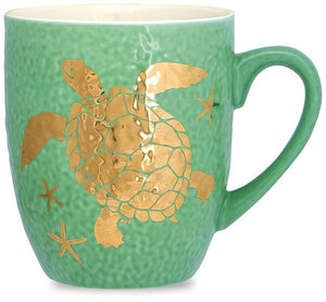 Sea Reflections Turtle Mug