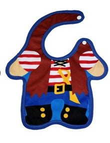 Pirate Baby Bib