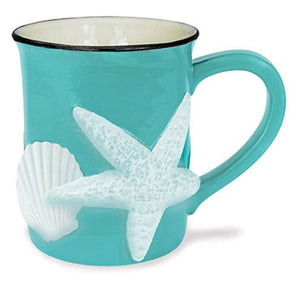 Sculpted Shell Mug