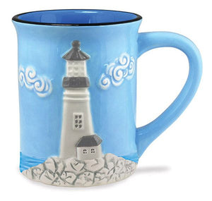 Sculpted Lighthouse Mug