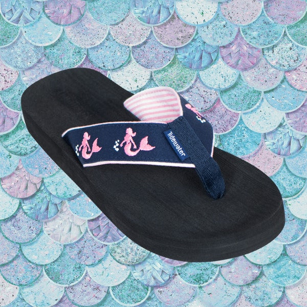 Pink Mermaid Boardwalk Flip-Flop Sandals
