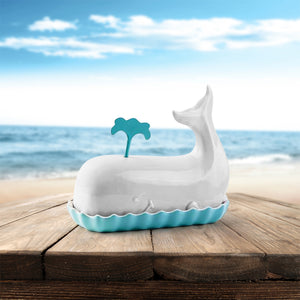 Whale Butter Dish
