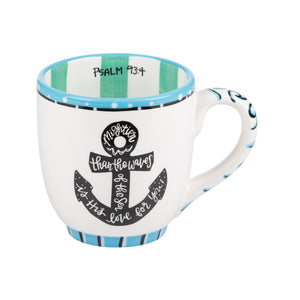 Mightier Than The Waves Mug