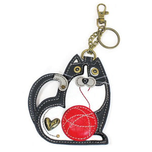 Fat Cat Key FOB / Coin Purse