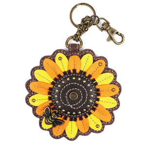 Sunflower Key FOB / Coin Purse