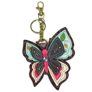 Butterfly Key FOB / Coin Purse