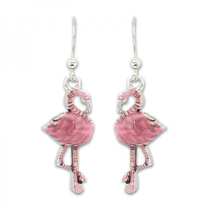 Tropical Flamingo Earrings
