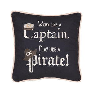 Play Like A Pirate Pillow