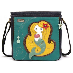 Mermaid Deluxe Messenger Bag