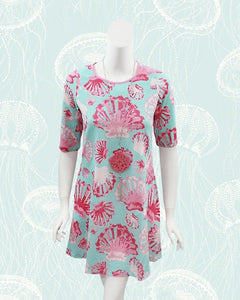 Ethel Seashells Ladies Swing Dress