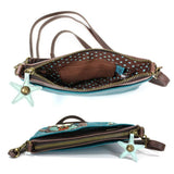 Turquoise Sea Turtle Mini Crossbody
