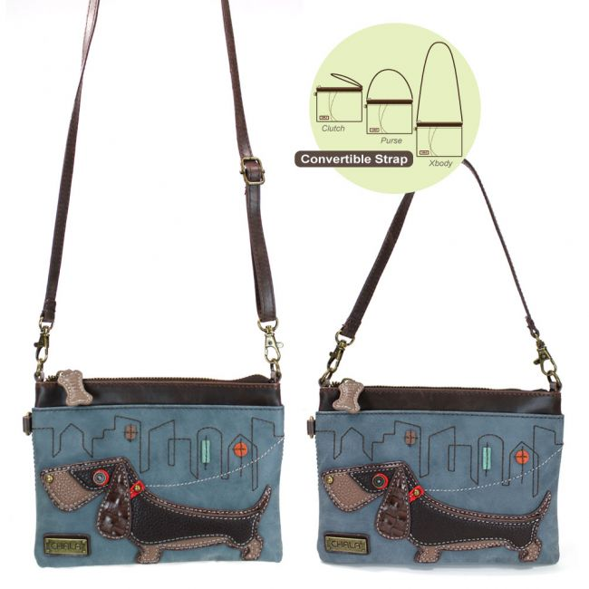 Wiener Dog Mini Crossbody