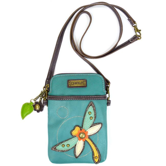 Dragonfly Cell Phone Crossbody