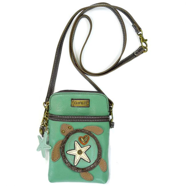Sea Turtle Cell Phone Crossbody