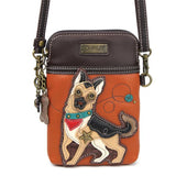 German Shepherd Cell Phone Crossbody