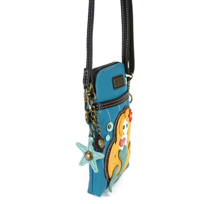 Mermaid Cell Phone Crossbody
