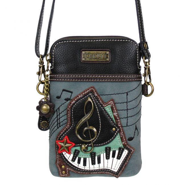 Piano Cell Phone Crossbody