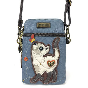 Slim Cat Cell Phone Crossbody