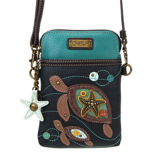 Two Turtles Cell Phone Crossbody