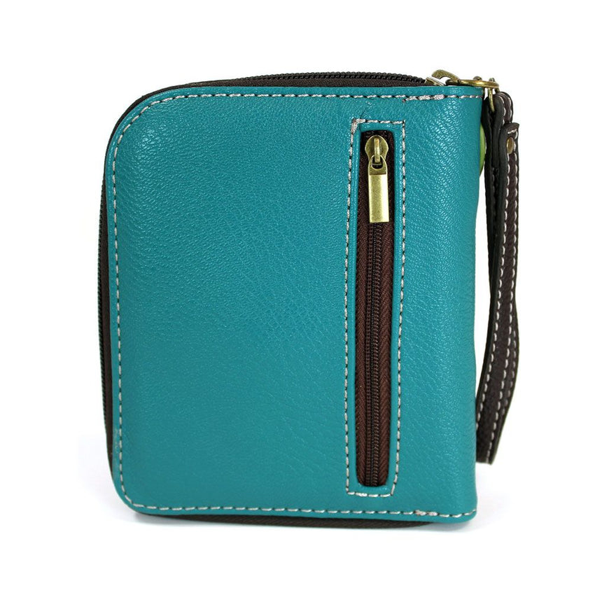 Dragonfly Zip Around Wallet