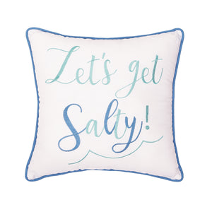 Lets Get Salty Pillow