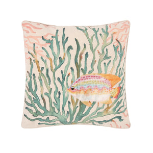 Oceanaire Coral Pillow