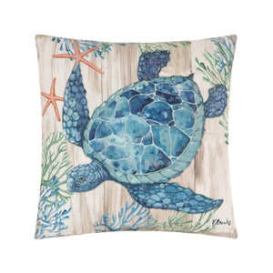Clearwater Sealife Pillow
