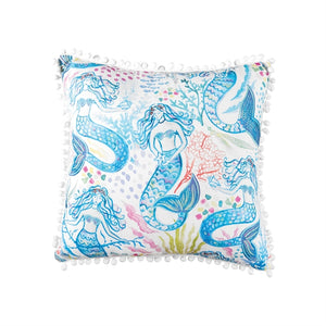 Mermaid Garden Pillow