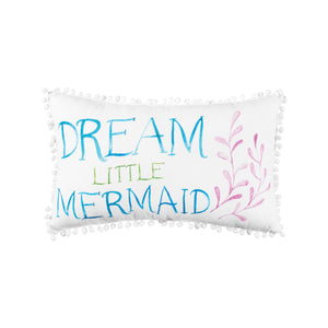 Dream Little Mermaid Pillow
