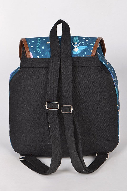 Mermaid Backpack With Pockets