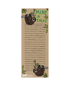 Hang in There Notepad
