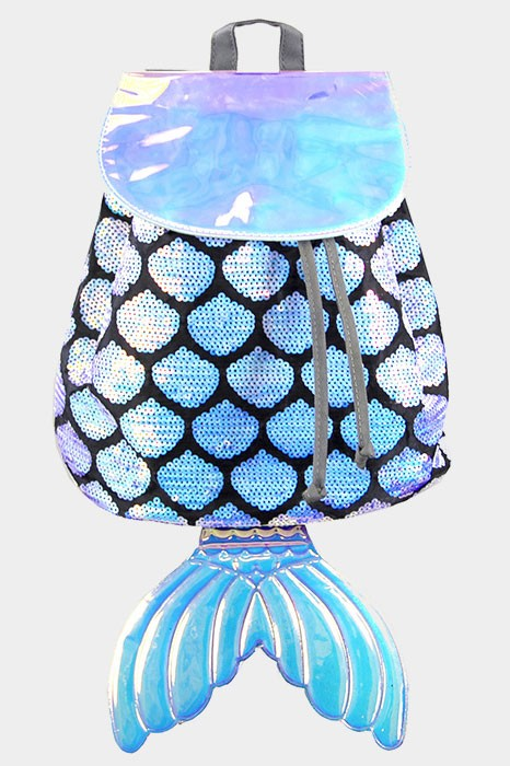 Mermaid Sequin Backpack Bag
