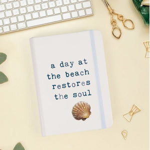 A Day At The Beach Notebook