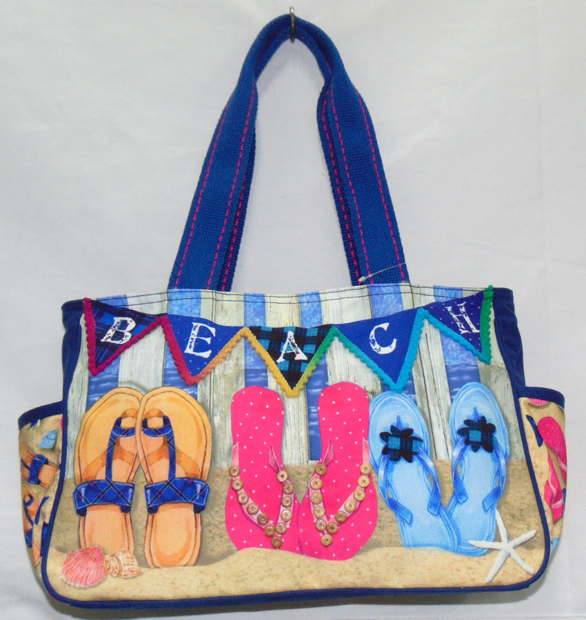 Toes in the Sand Medium Tote