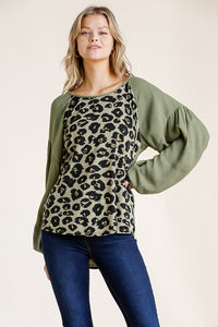 Adventurous Animal Print Top - Available in 3 Colors