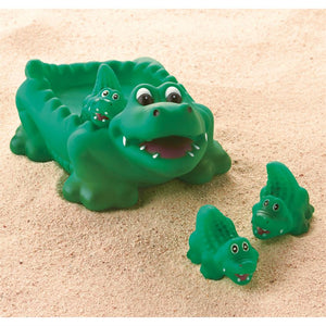 Alligator Bath Toy Set