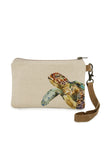 All Natural Sea Turtle Wristlet